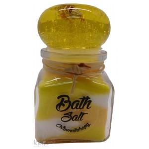 """Soľ do kúpeľa so sviečkou - malá - """"kalamár"""" - 2298 - 3"""
